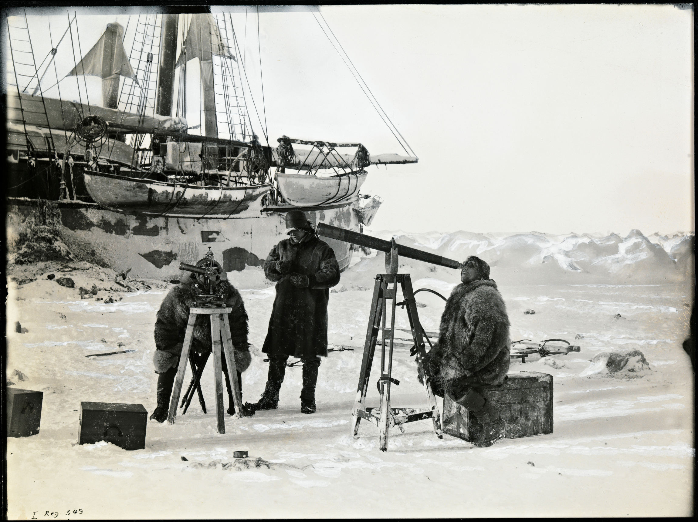 Fram-Expedition: Bahnbrechende Forschungsergebnisse aus der Arktis (Foto: National Library of Norway)